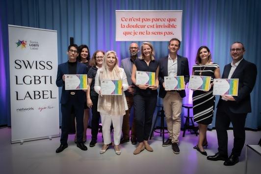 L'Oréal Schweiz erhält das Swiss LGBTI-Label für seine Politik der Inklusion von Personen aus der LGBTI+ Community