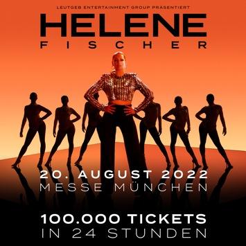 HELENE FISCHER – 100.000 verkaufte Tickets nach 24 Stunden