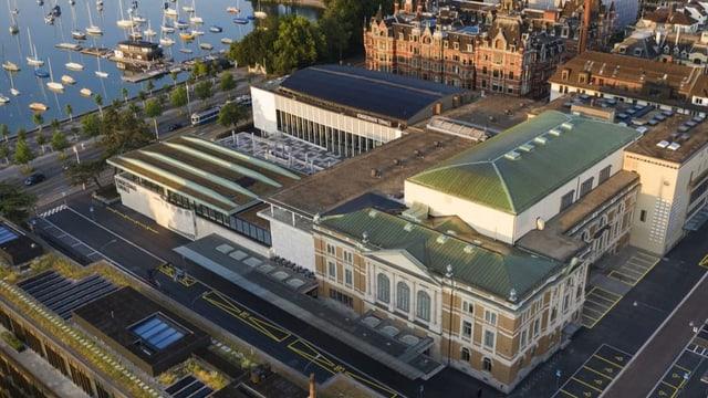Ein neues Traumpaar der Architektur in Zürich