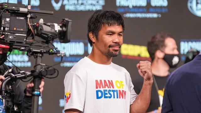 Fokus auf die Politik: Pacquiao beendet Box-Karriere