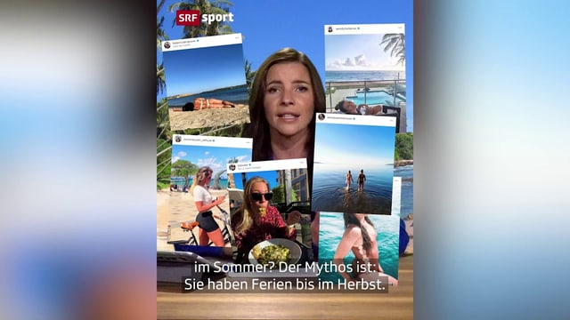 Schuften und schwitzen: So leiden die Ski-Stars im Sommer