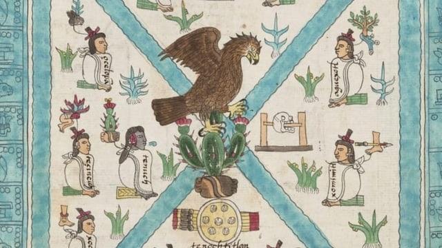 Was Adlerfedern und Sprechblasen über die Azteken erzählen