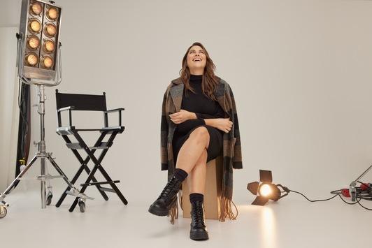 Plus-Size-Marke launcht erste Kapsel-Kollektion mit Curvy – Model Céline Denefleh im Herbst 2021
