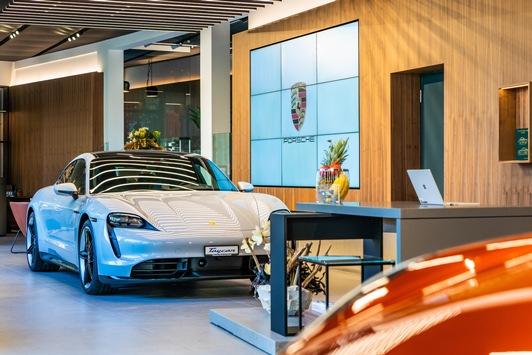 Erstes Schweizer Porsche Studio eröffnet in Zürich