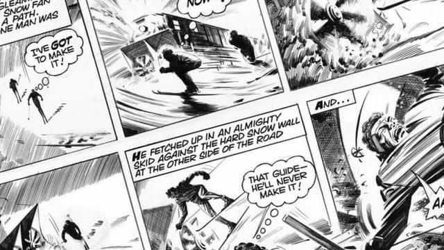 Bevor 007 zum Filmhelden wurde, war er ein Comic-Agent