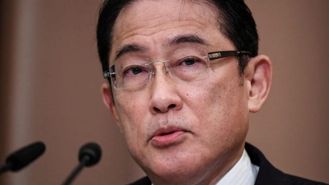 Fumio Kishida wird neuer japanischer Premierminister