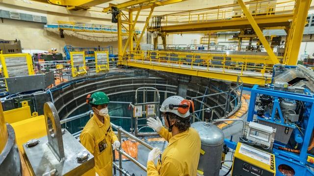 Wie entsorgt man ein ganzes Atomkraftwerk?
