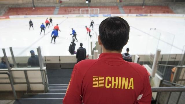 Muss Chinas Eishockey-Nati bei Heim-Olympia in Peking zuschauen?