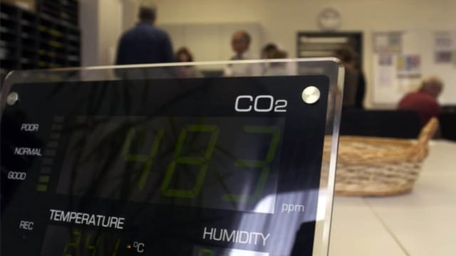 Darum schützt ein CO₂-Messgerät zuhause kaum vor Covid-19