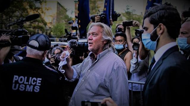 US-Repräsentantenhaus stimmt Strafverfolgung von Steve Bannon zu