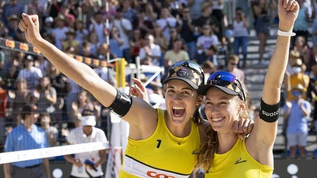 Wer sind eigentlich Tanja «who barely» und Nina «that shot»?