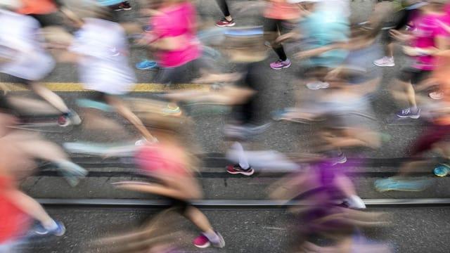 Alles anders beim Frauenlauf in Bern