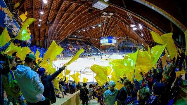 Noch strömen die Fans nicht in die Eishockey-Stadien