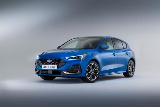 Der neue Ford Focus: Modernes Design, mehr Konnektivität und grössere Auswahl bei elektrifizierten Antrieben