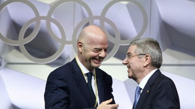 IOC sorgt sich um die Pläne der Fifa