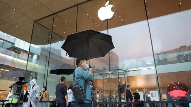 Apple-Zulieferer in China stellen Produktion ein