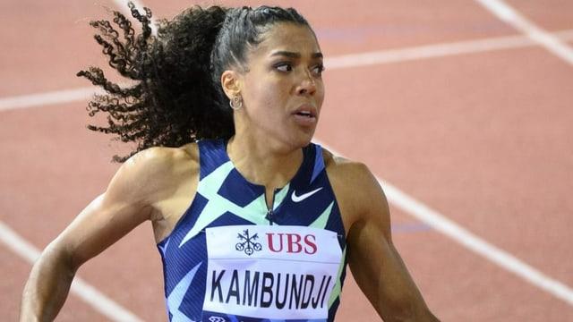 Kambundji schlägt Del Ponte knapp und wird über 100 m Fünfte