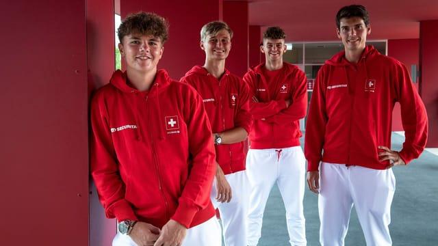 Stricker kommt zu seinem Davis-Cup-Debüt