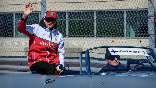 Räikkönen kündigt sein Karriereende an