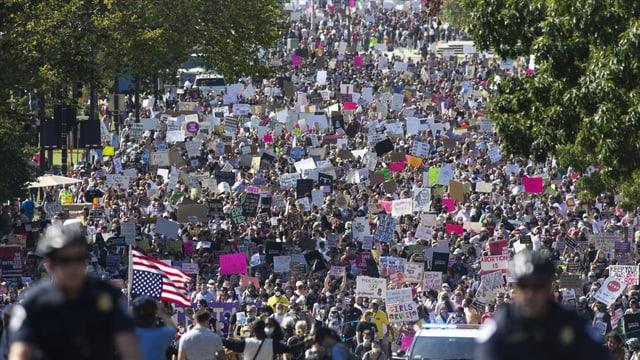 Tausende in den USA wehren sich gegen Abtreibungsverbote