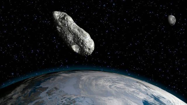 Wanderer von Meteoriten erschlagen?