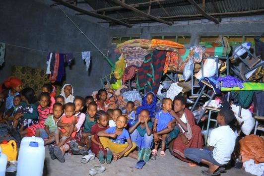 Kindern drohen Entwicklungsschäden: Kriegsflüchtlinge in Äthiopien brauchen dringend Nothilfe