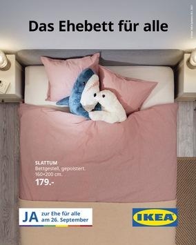 """IKEA Schweiz lanciert """"Ehebett für alle"""" Kampagne"""