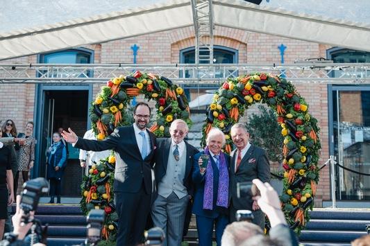 80 Jahre Eckart Witzigmann – Berlin sagte DANKE mit einem großen Fest im KPM Quartier am 9. Oktober 2021 mit über 400 geladenen Gästen und Wegbegleitern