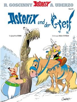 """""""Asterix und der Greif"""" Band Nr. 39 – Das Cover ist da!"""