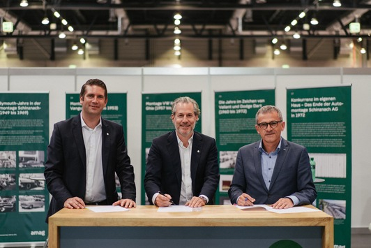 AMAG Group AG beteiligt sich an Synhelion