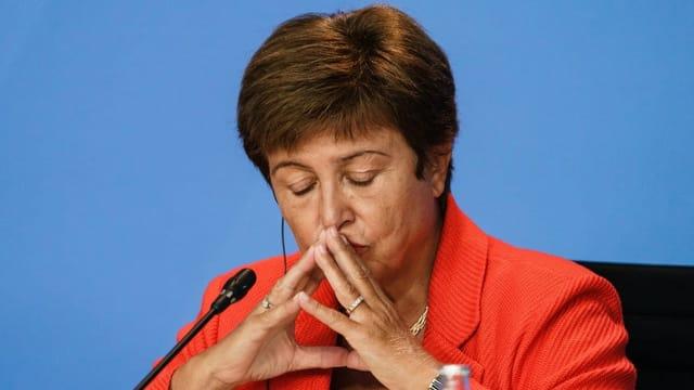 Manipulation eines Berichts setzt IWF-Chefin unter Druck