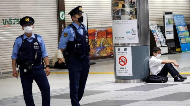Dutzende Verletzte nach Erdbeben in Tokio