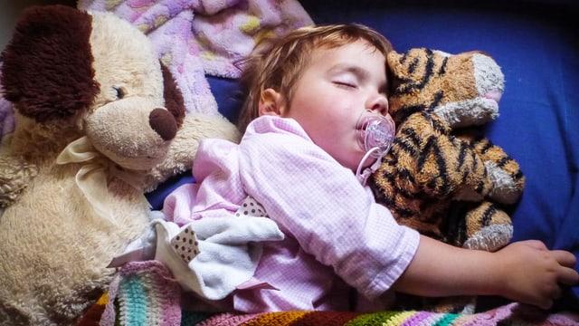 Was macht der Schlaf mit Kleinkindern?