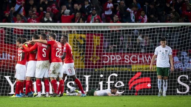 Im Stade de Genève gewinnt die Nati ihre Quali-Spiele immer