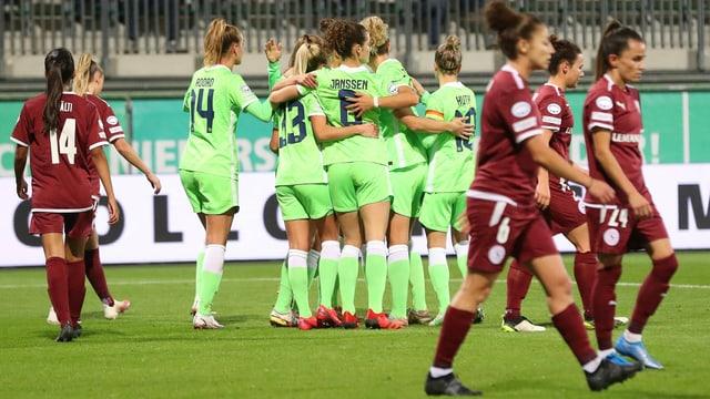 Servette auch gegen Wolfsburg chancenlos