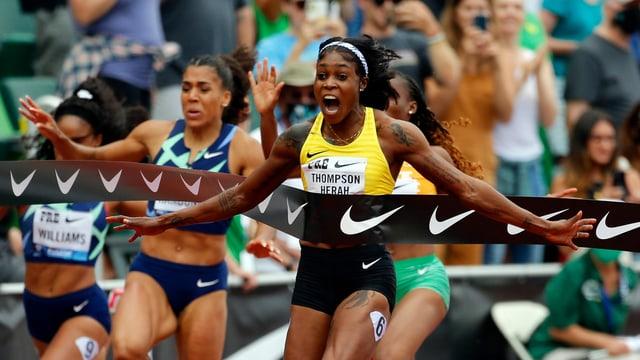 33 Jahre alter Fabel-Weltrekord wackelt wegen Thompson-Herah