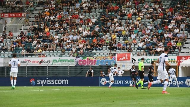 Bei Lugano spielen die Schweizer am meisten