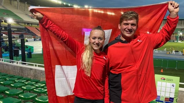 Zweimal Bronze für die Schweiz an der U20-WM