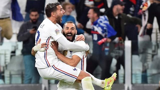 Frankreich dreht dramatische Nations-League-Partie gegen Belgien