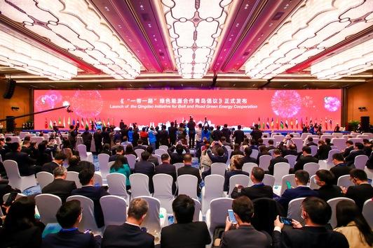 """Die zweite Energieministerkonferenz der """"Seidenstraßen-Initiative"""" in Qingdao eröffnet"""